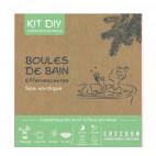 Coffret DIY Boules de Bains Effervescentes Naturelles - RAD61001
