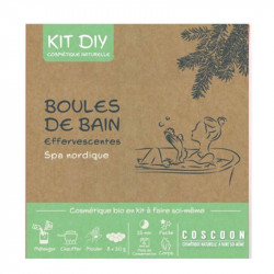 Coffret DIY Boules de Bains Effervescentes Naturelles - RAD61001