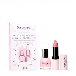 Duo Rouge à Lèvres et Vernis Ballerine - ROS45012
