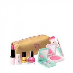 Panoplie Maquillage Dorée Luxe - ROS45011