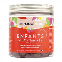 Gummies Multivitamines Enfants Fraise - LMR93006