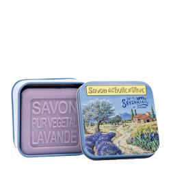 BOITE METAL PAYSAGE ET SON SAVON - SAV72003