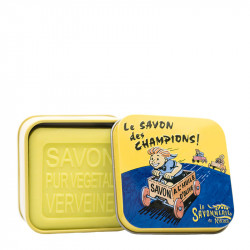 BOITE METAL PUB ANCIENNE CAISSE ET SON SAVON - SAV72006