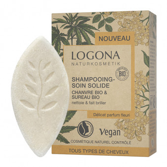 Shampooing Soin Solide Chanvre Sureau Bio - LOG.82.021