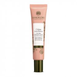 Crème Hydratante Légère à l'Eau Florale de Rose Combinée à l'Acide Hyaluronique Naturel - SAN52006