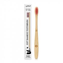 Pink bamboo toothbrush - MWS80005