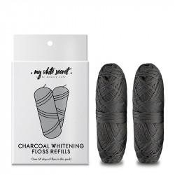 Charcoal plastic free dental floss refills - MWS80008
