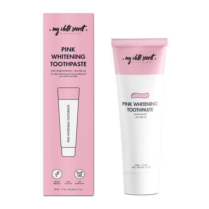 Pink whitening toothpaste - MWS80010