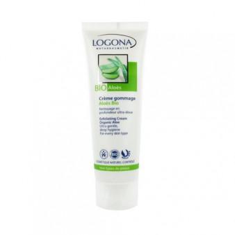 Crème Gommage Aloès Bio - LOG.83.027