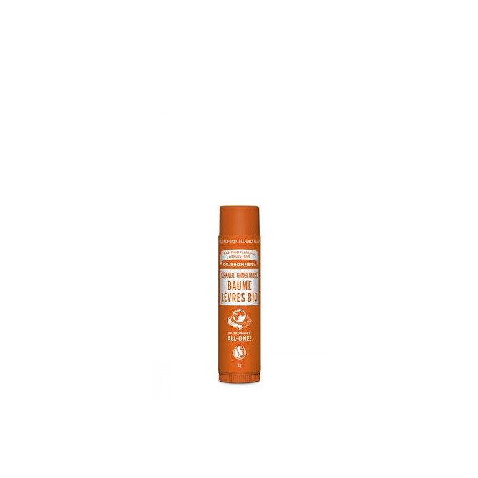Baume à Lèvres Bio Orange-Gingembre - DBR.41.001