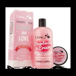 I Love Bubble & Love Crème de Fraise - ILO.86.057