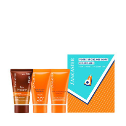 Coffret Tan Preparer Exfoliant