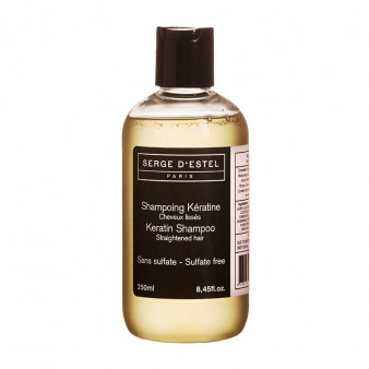 Shampooing à la Kératine Pour Cheveux lissés - SER.82.008