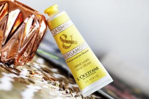 Crème pour les mains Jasmin & Bergamote de l'Occitane : peut mieux faire