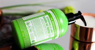 Savon au Sucre Bio Citronnelle-Limette Dr Bronner's : le produit 18 en 1