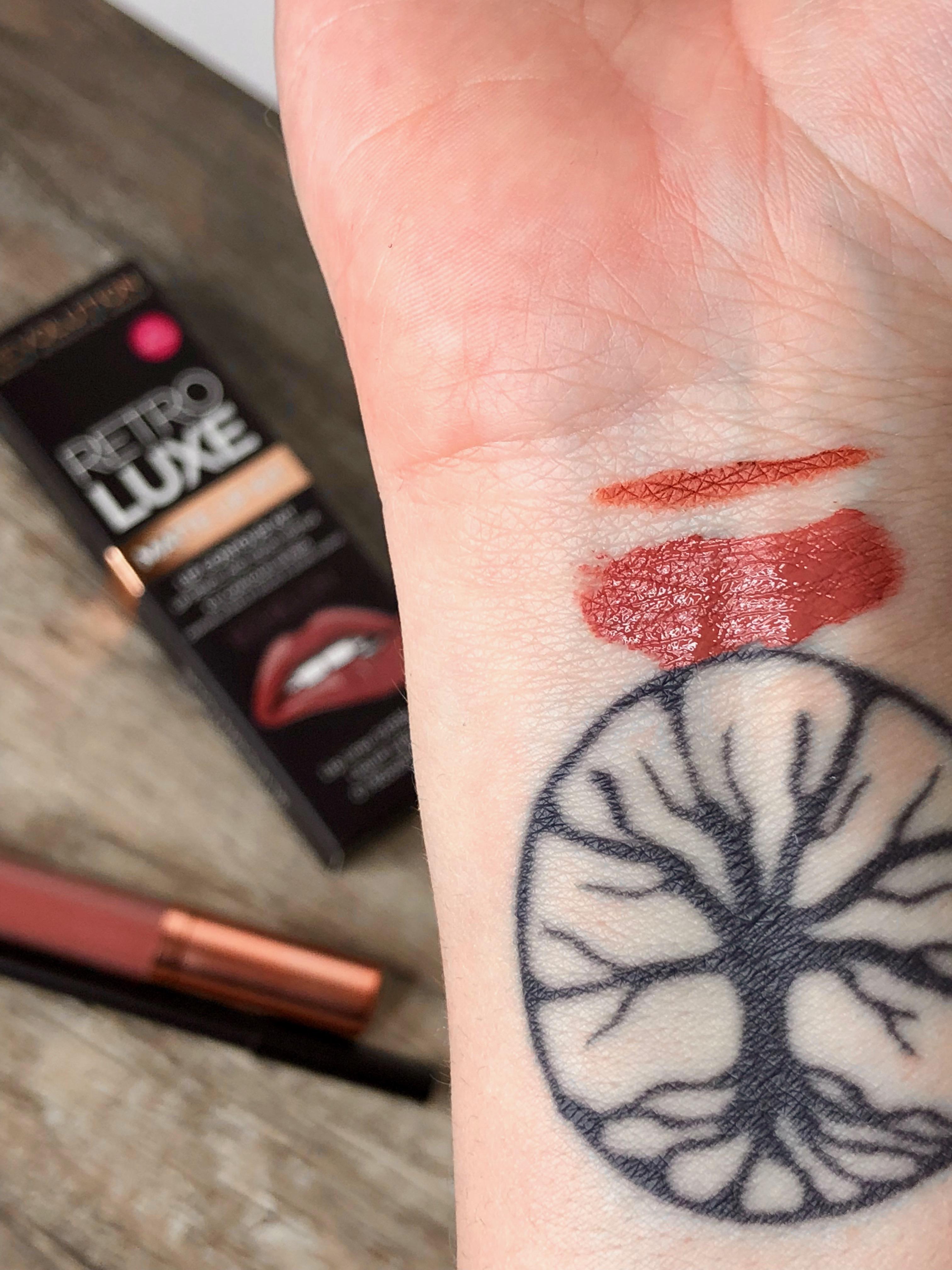 retro luxe mat makeup revolution